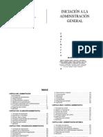 Libro - Iniciación a La Administración General