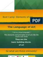 elements of art boot camp pt1