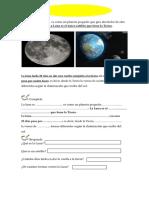 La Luna El Único Satélite de La Tierra