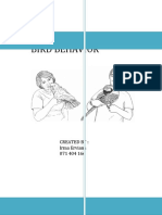 Bird Behaviors (Perilaku Burung Tekukur)