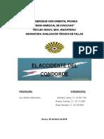 Trabajo La Tragedia Del Concorde