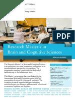 Brochure Brain and Cognitive Sciences 2016 2017