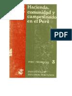 001, 002, 003 - José Matos Mar - Hacienda, Comunidad y Campesinado en El Perú