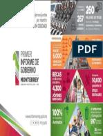 31-10-16 Primer Informe de Gobierno de Monterrey 2015 - 2018