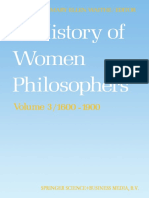 A History of Women Philosophers Vol. III - Mary Ellen Waithe
