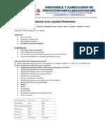 Procedimiento Estándar Inspección Por Líquidos Penetrantes