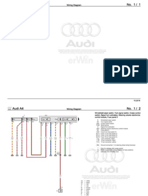 AudiA42016 Up DiagramasElectricos | Electrical Connector ... on