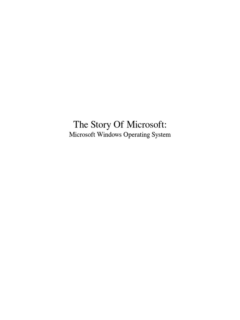 The story of microsoft pdf windows nt microsoft windows fandeluxe Images