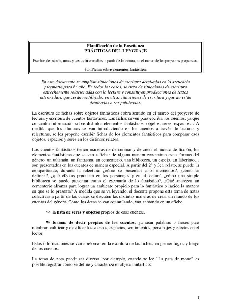 Escritos de Trabajo, Notas y Textos Intermedios A Partir de La ...