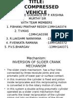 Air Compressed Vehicle