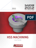 SolidCAM 2012 HSS User Guide