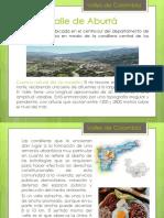 Valles y Serranias de Colombia