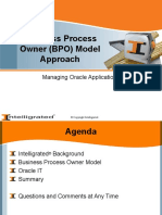 Business Process Model-OrACLE