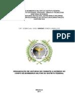 ORGANIZAÇÃO DE VIATURAS DE COMBATE A INCÊNDIO