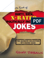 The Mammoth Book of Dirty, Sick, X-Rated & Politically Incorrect Jokes - Geoff Tibballs