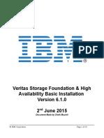 VCS_SFWHA Basic Installation SOP