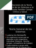Aportaciones de La Teoría General de Los Sistemas