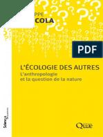 Philippe Descola-L'écologie des autres _ L'anthropologie et la question de la nature-Éditions Quæ (2011)