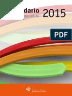 Calendario Del Contribuyente 2015