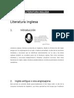 Literatura Inglesa,Alemana,Francesa,Italiana