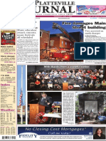 The Platteville Journal General Excellence entry