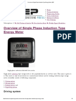 Overview of Single Phase Induction Type Energy Meter _ EEP