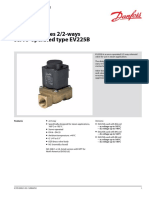 Solenoid valves 2/2-ways servo-operated type EV225B