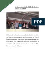 Comunicado de 15 Partidos de La MUD
