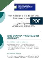 Planificación de la Enseñanza Prácticas del Lenguaje