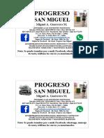Progreso San Miguel