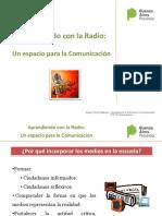 Presentación Aprendiendo con La Radio 1