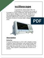 8 Oscilloscope