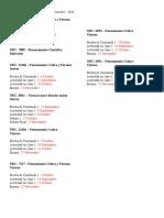 Calendario de Evaluaciones 2016 - 2SEM