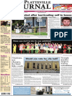 The Platteville Journal front page Oct. 7, 2015