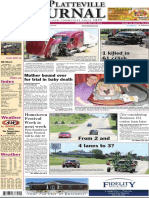 The Platteville Journal front page July 20, 2016