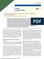 Pre-Eclampsia and Future Cardiovascular Risk Among Women