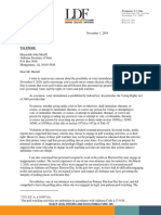 LDF Letter to the Alabama Secretary of State