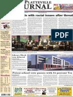 The Platteville Journal Nov. 11, 2015 breaking news