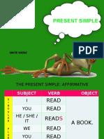 Present Simple Ingles