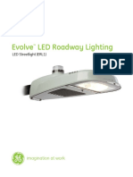 OLP3093 GE LED Evolve Low Wattage Street Light ERL1 Data Sheet Tcm201 91959