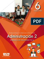 Administracion II. Icep. Bach Dominical