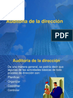 AUDITORIA DE DIRECCION