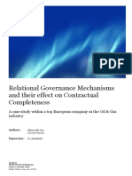 Relational Governance Mechanisms