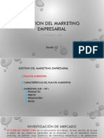 GME Sesion 12 -Marketing Mix