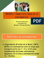 UNIDAD I Desarrollo Físico de La Adolescencia