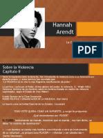1. Hannah Arendt - Sobre La Violencia