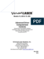 Computerized Controls Versalaser Advanced Driver English M