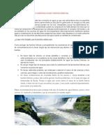 Conservacion de Fuentes Hídricas