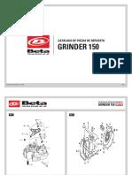 Manual Repuestos Grinder 150