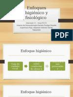 Enfoques Higiénico y Fisiológico